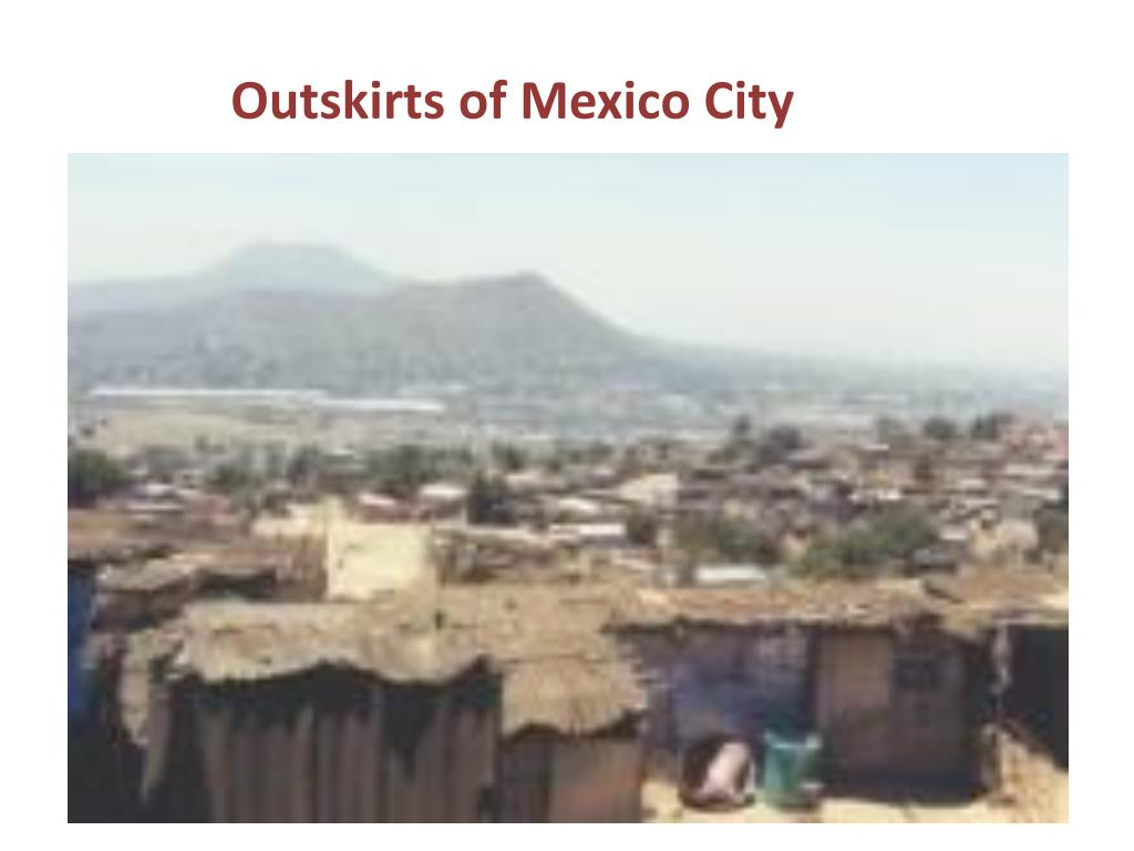 Outskirts of Mexico City