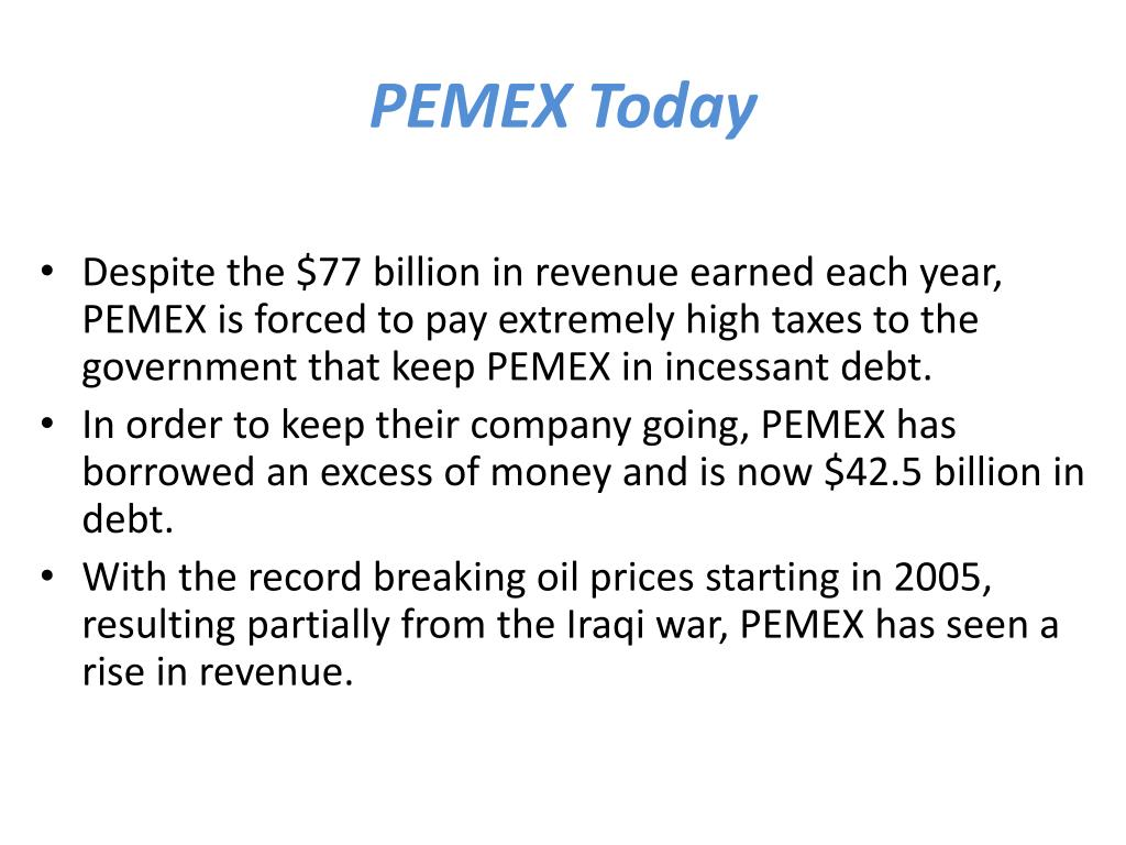 PEMEX Today