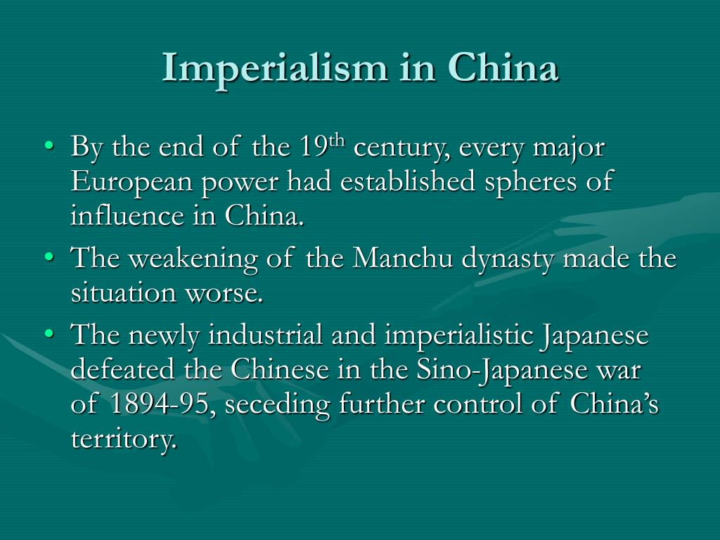 new imperialism influence on china 1757: battle at calcutta - lieutenant-colonel robert clive to the lord chancellor (2/23) 1757: the battle of plassey - robert clive to the east india company (7/26) 1760: the canton system of trade 1772: speech on india in the house of commons - robert clive.