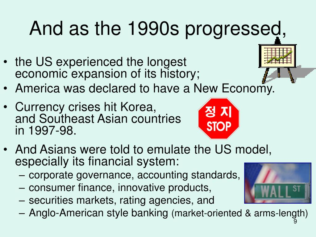 And as the 1990s progressed,