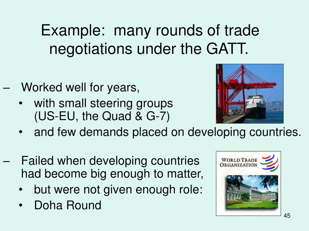 Example:  many rounds of trade