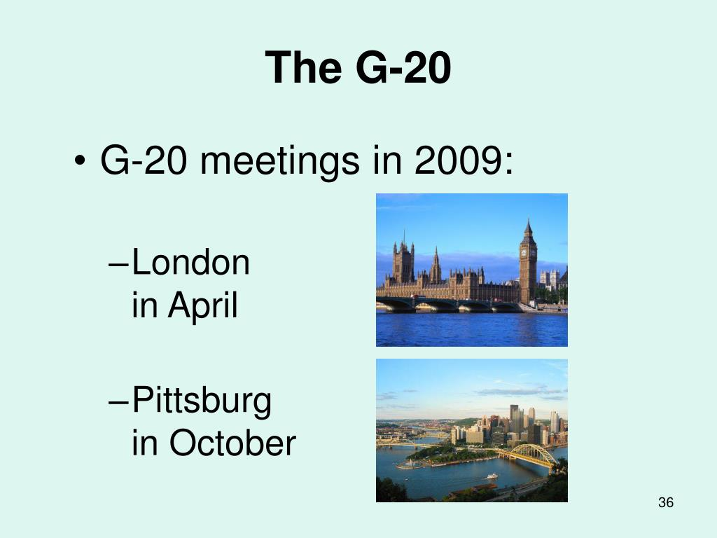 The G-20