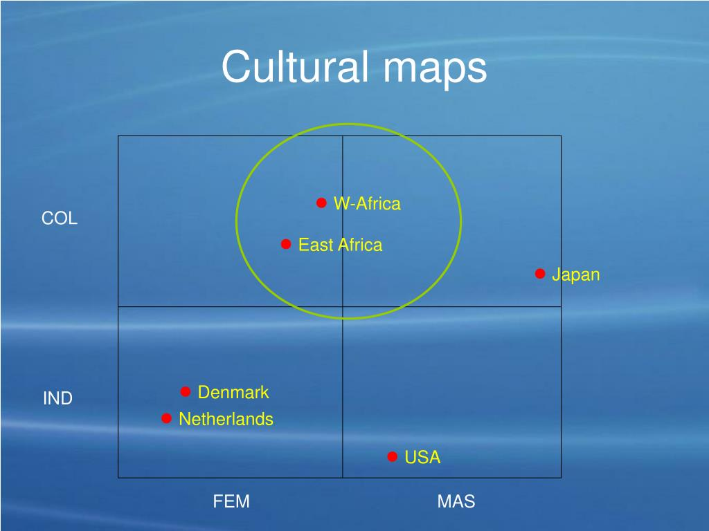 Cultural maps