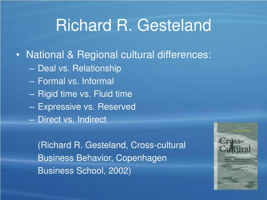 Richard R. Gesteland