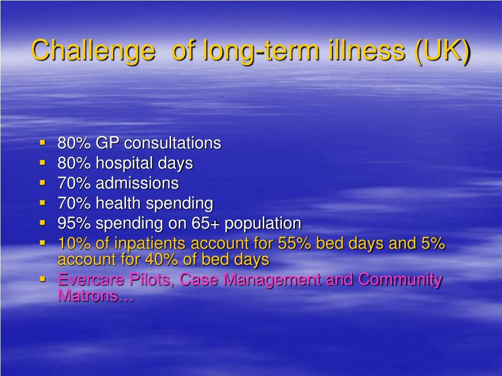 Challenge  of long-term illness (UK)
