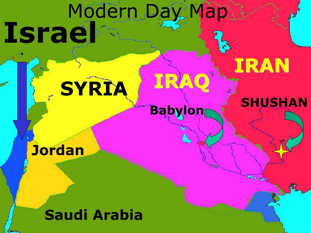 Modern Day Map