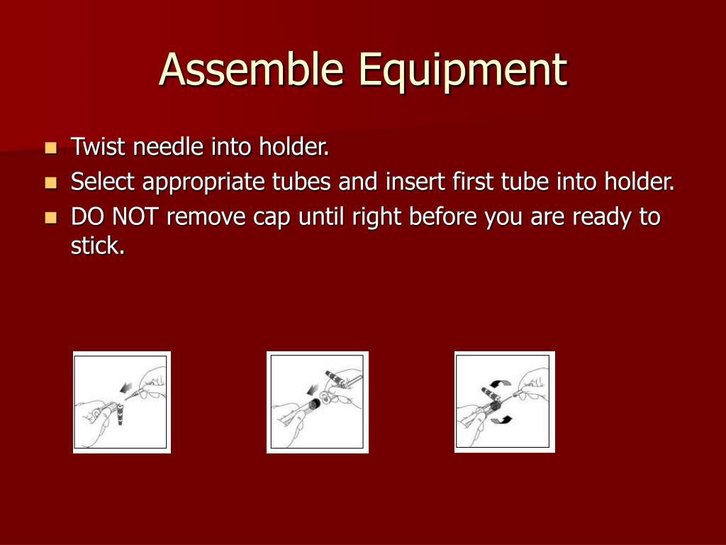 Assemble Equipment