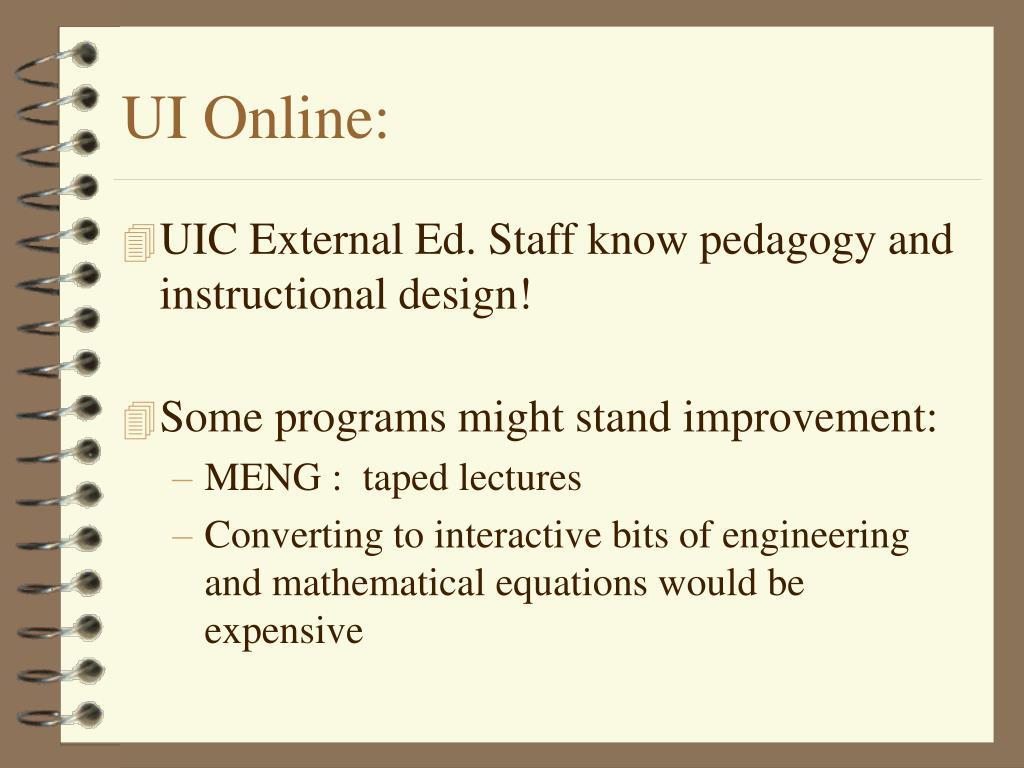 UI Online: