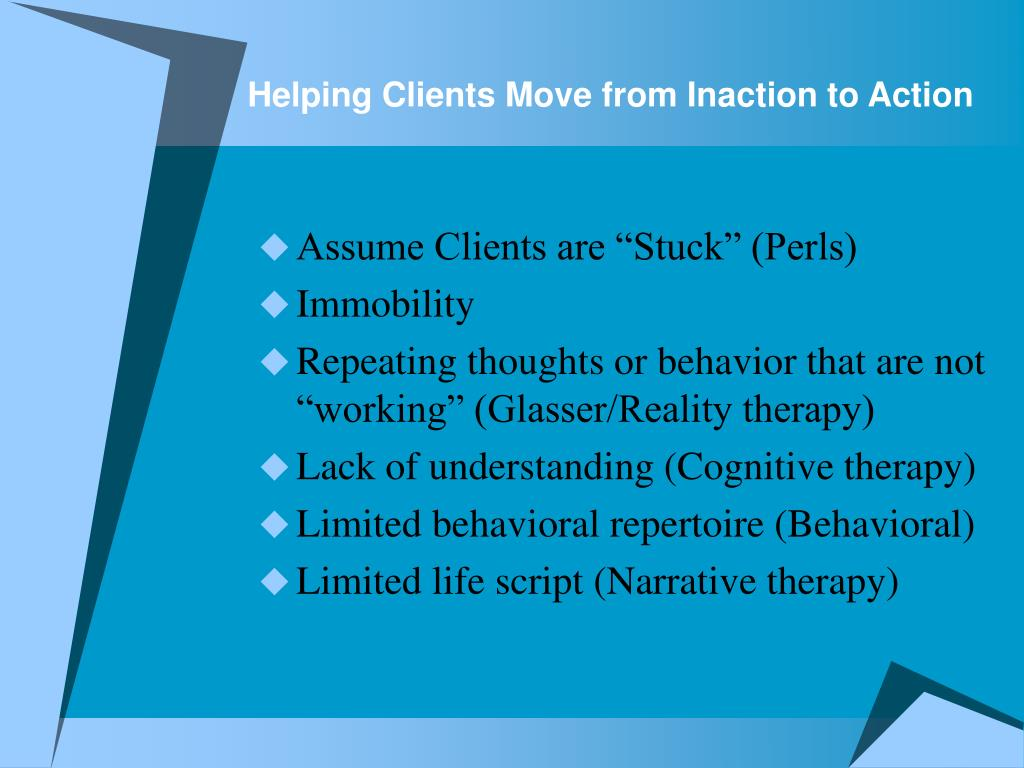 Helping Clients Move from Inaction to Action