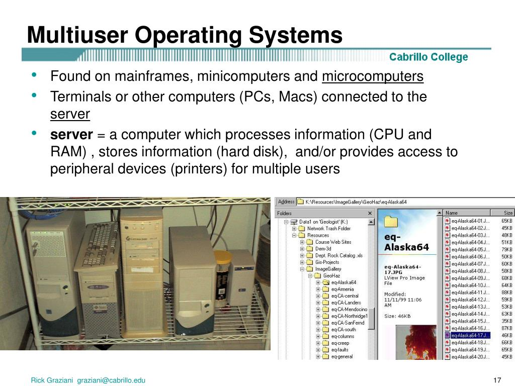 Multiuser Operating Systems