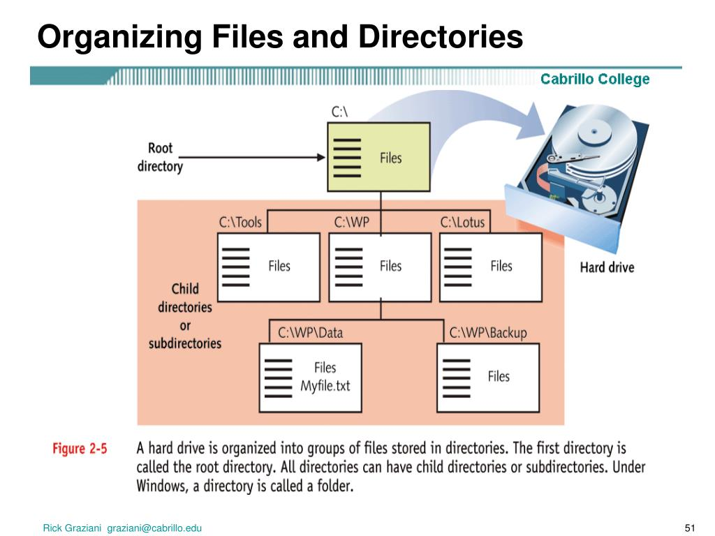 Organizing Files and Directories
