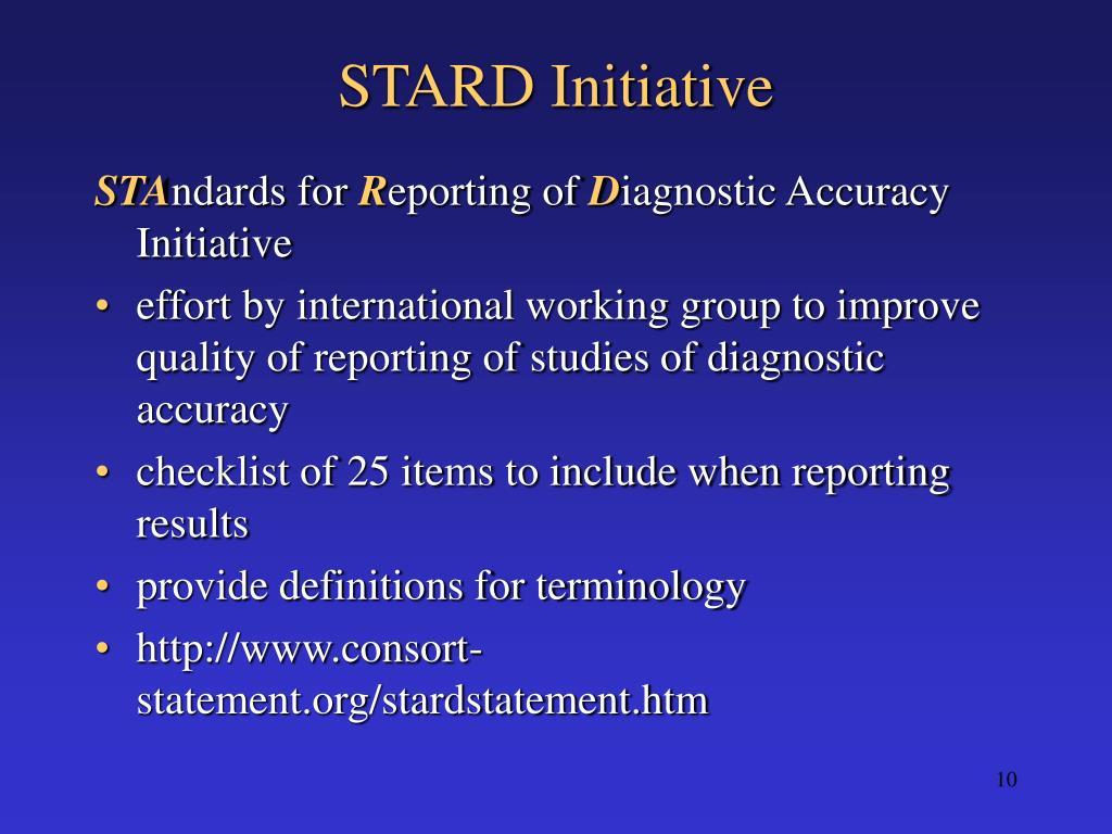 STARD Initiative
