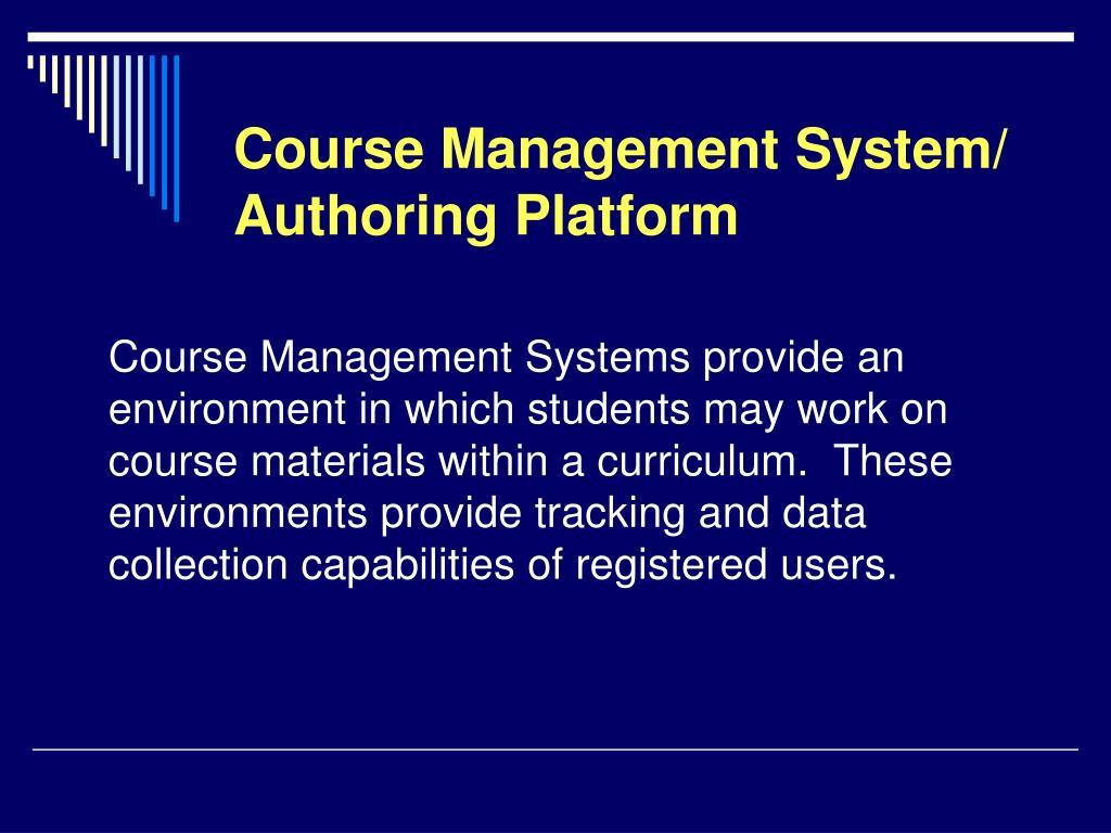 Course Management System/