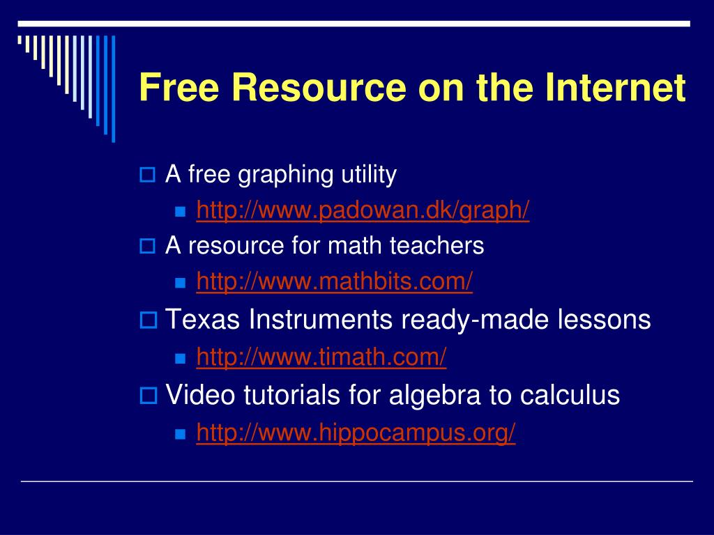 Free Resource on the Internet