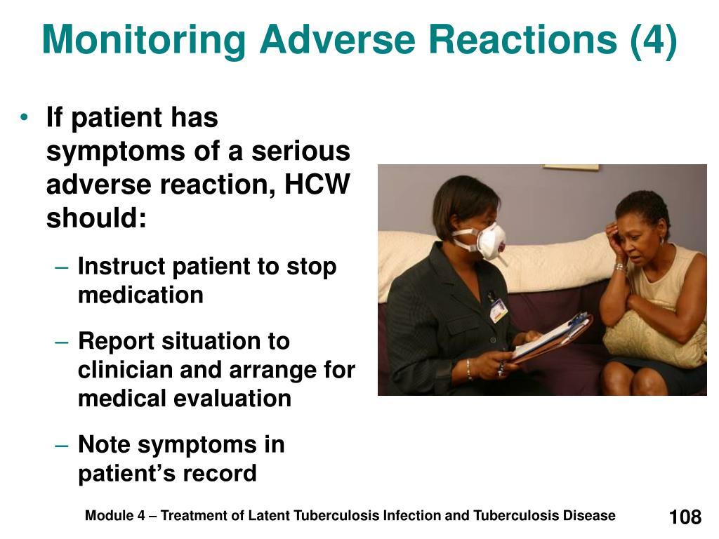 Monitoring Adverse Reactions (4)