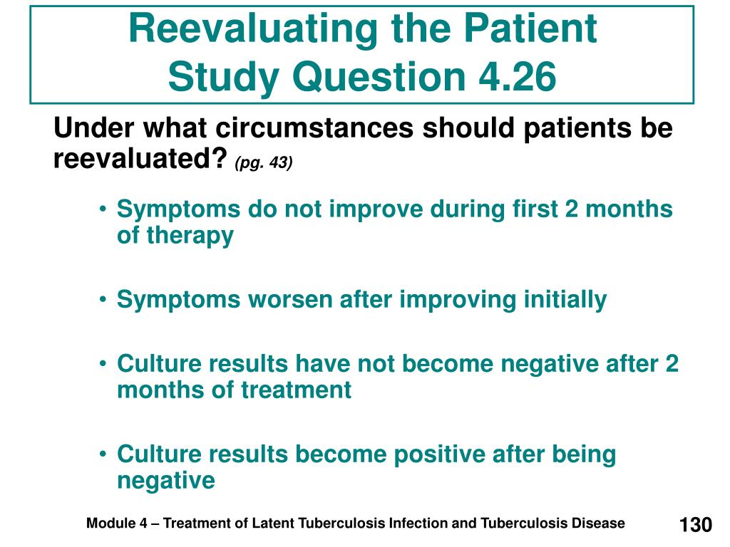 Reevaluating the Patient