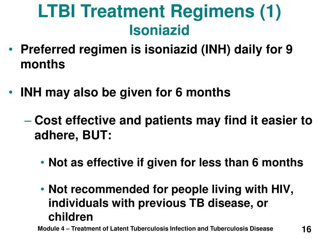 LTBI Treatment Regimens (1)