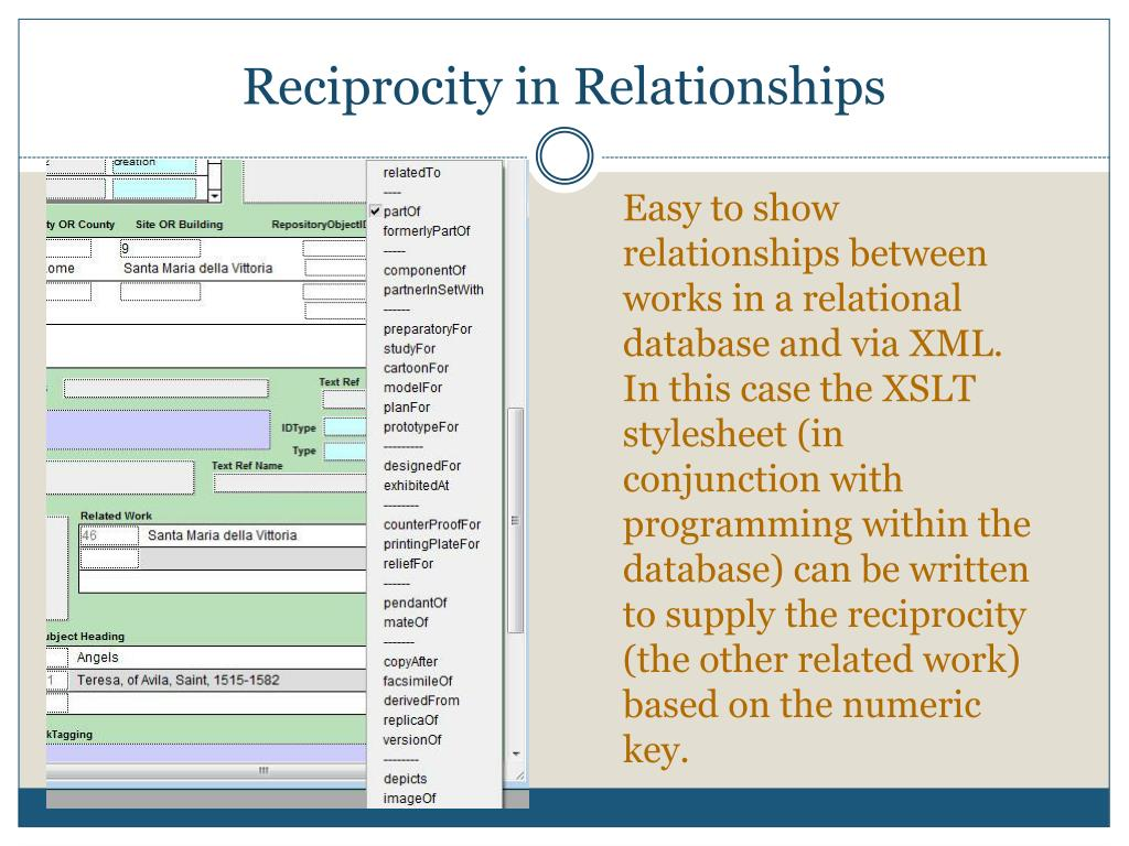 Reciprocity in Relationships