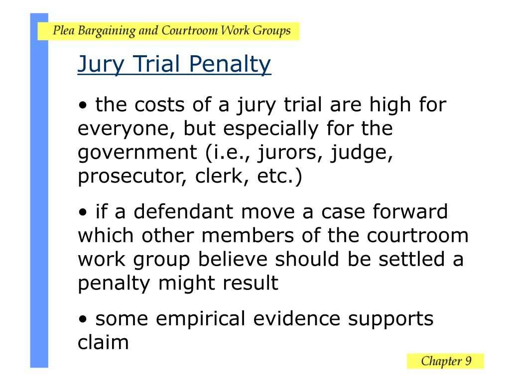 Jury Trial Penalty