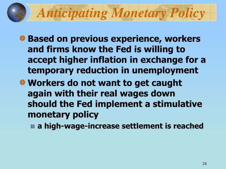Anticipating Monetary Policy