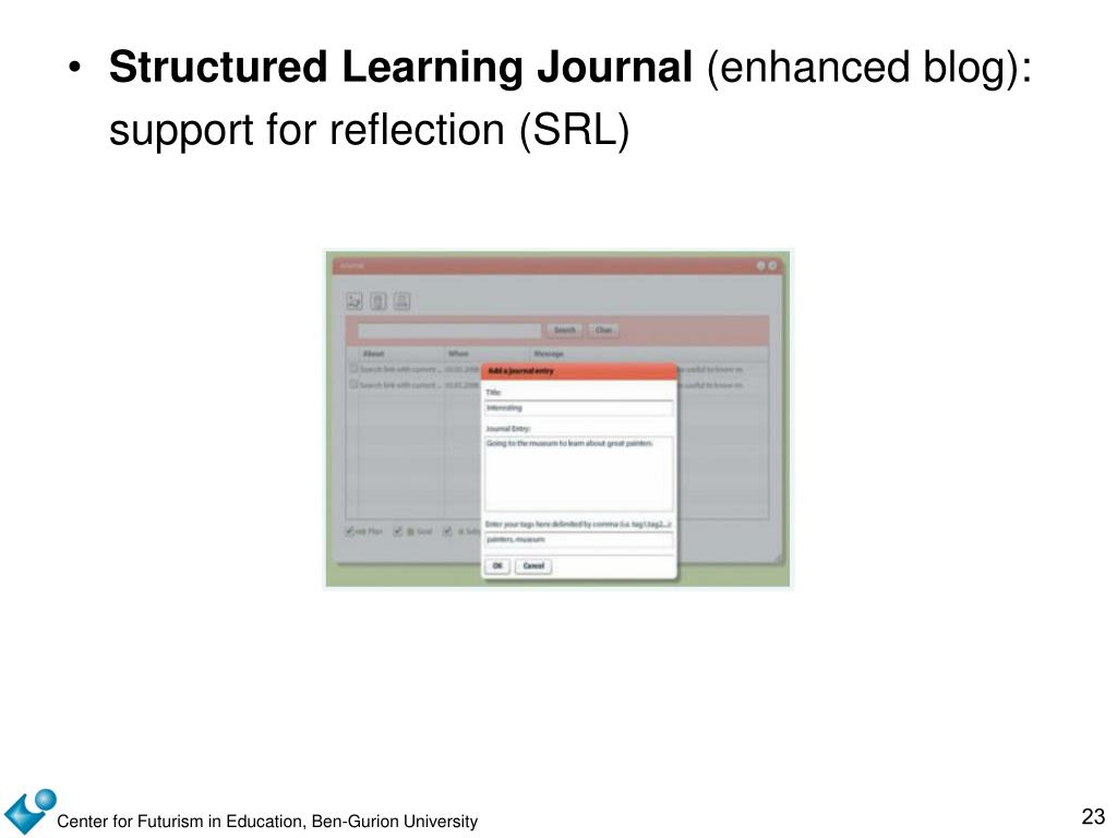 Structured Learning Journal