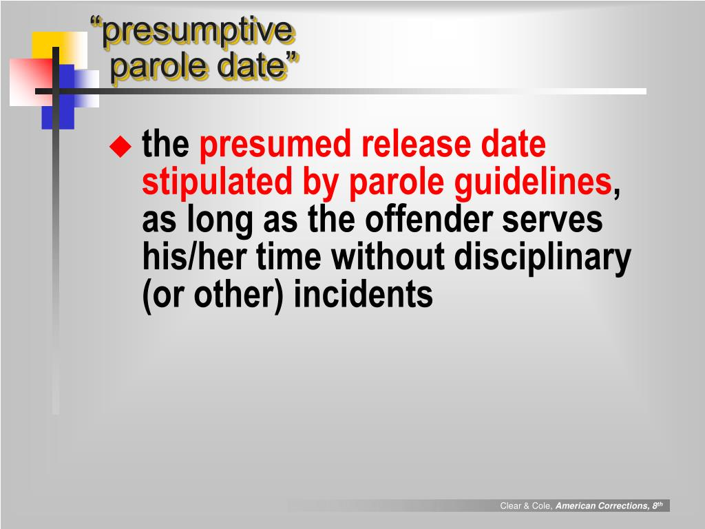 """presumptive"