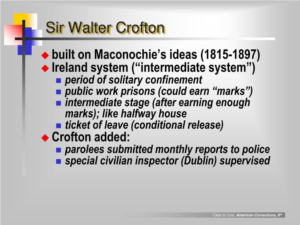 Sir Walter Crofton
