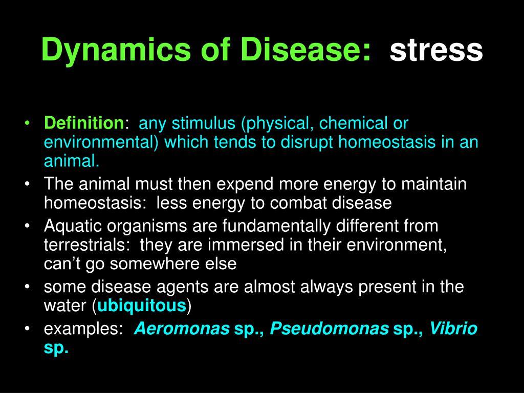 Dynamics of Disease: