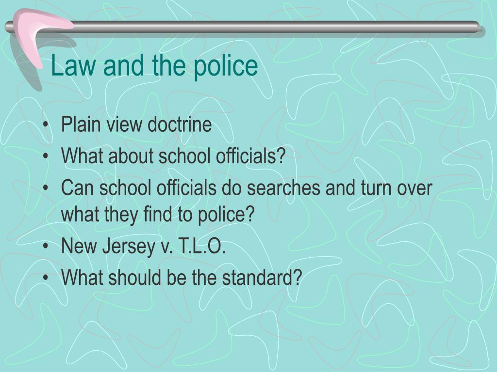 Law and the police