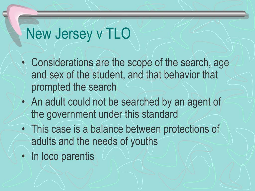 New Jersey v TLO