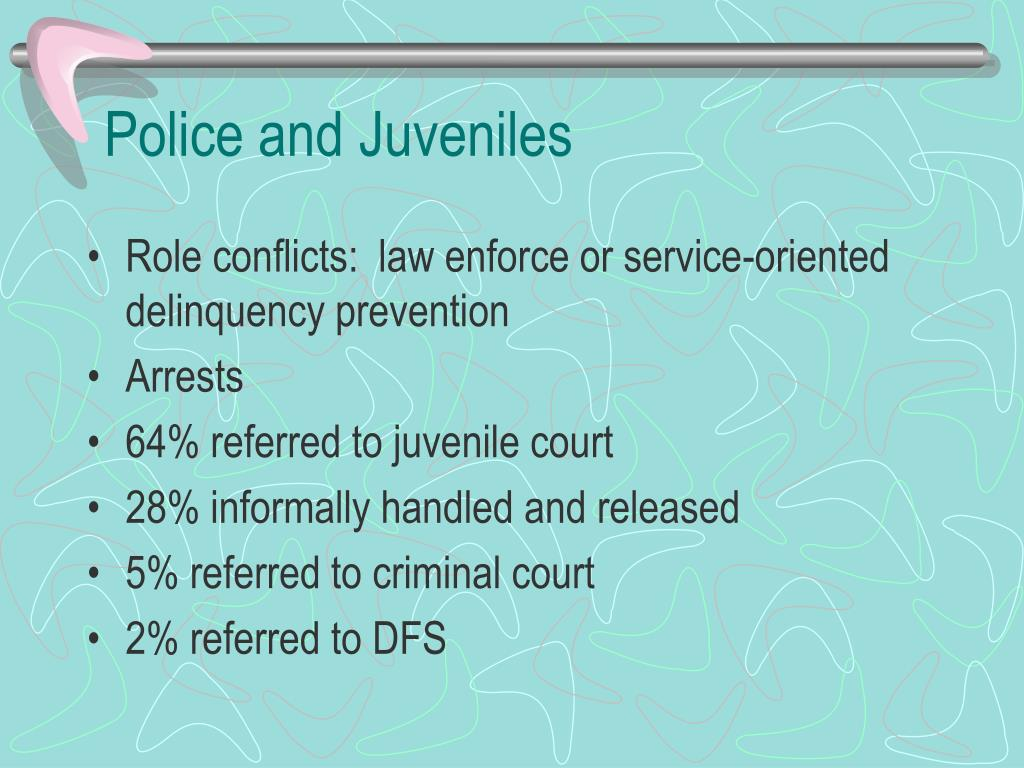 Police and Juveniles