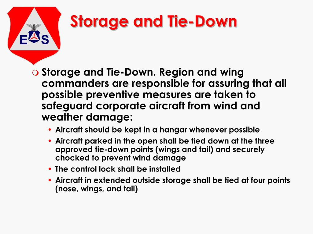 Storage and Tie-Down