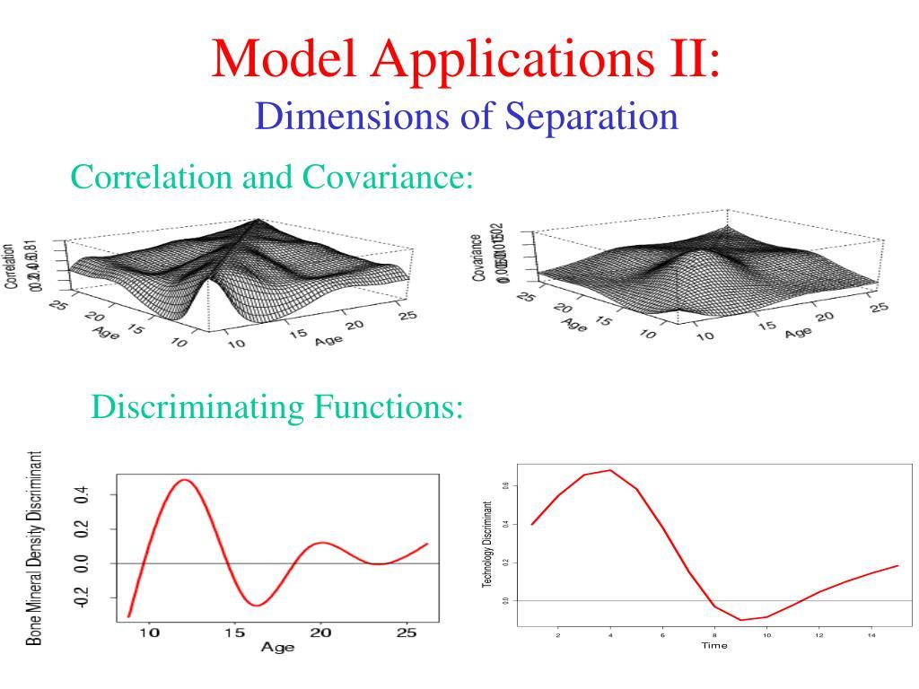 Model Applications II: