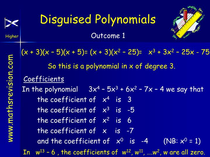 Disguised Polynomials
