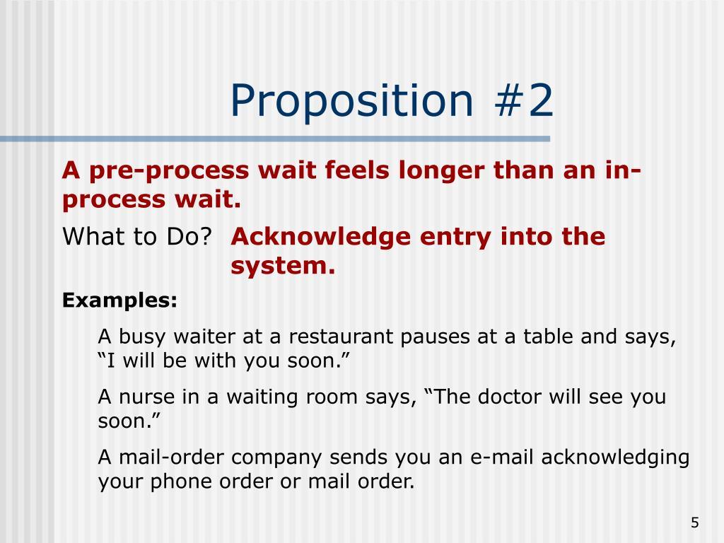 Proposition #2