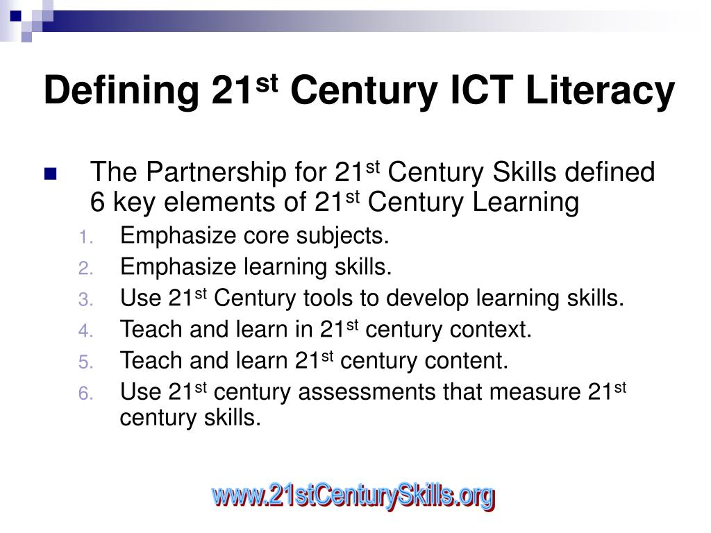 Defining 21