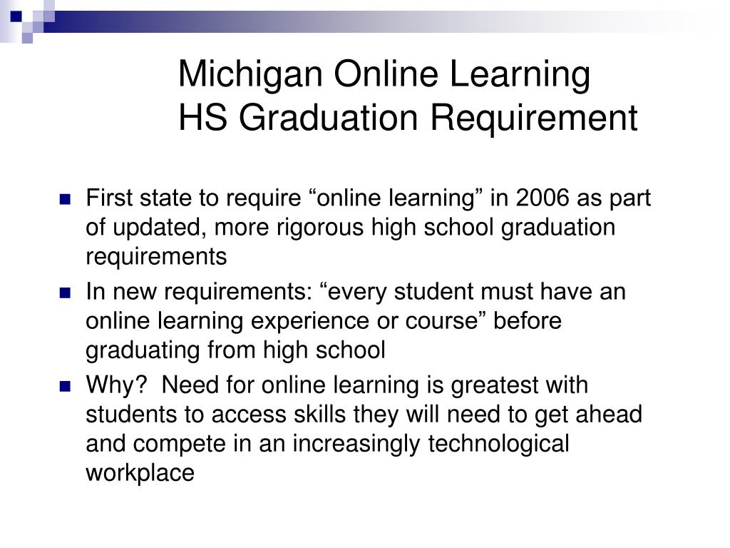 Michigan Online Learning