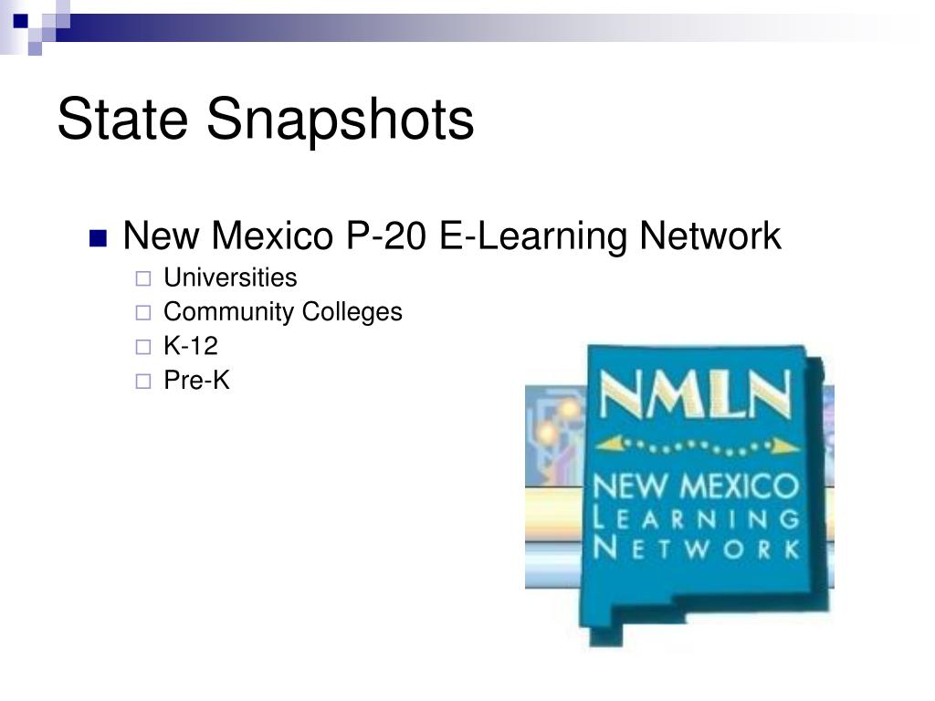 New Mexico P-20 E-Learning Network