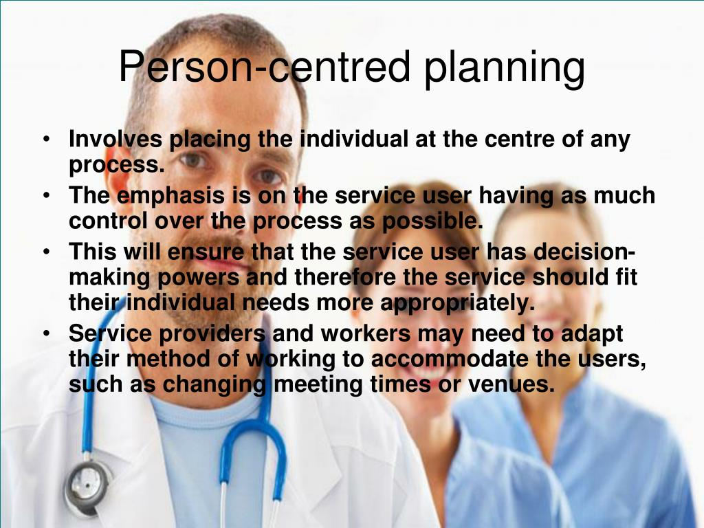 Person-centred planning