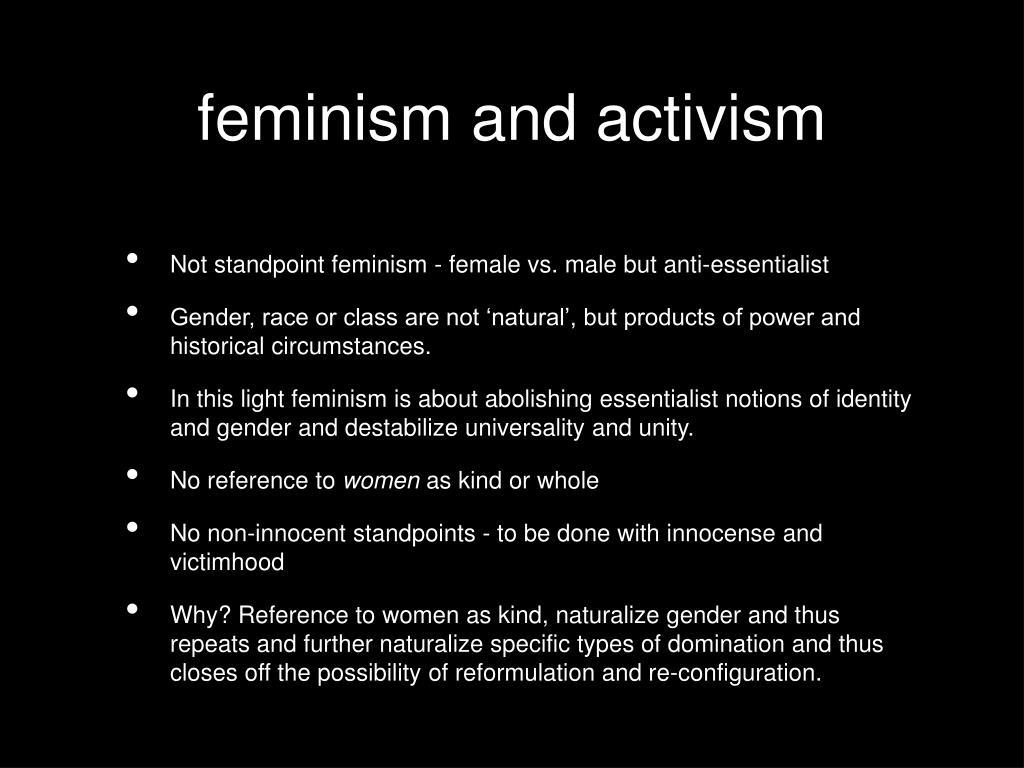 feminism and activism