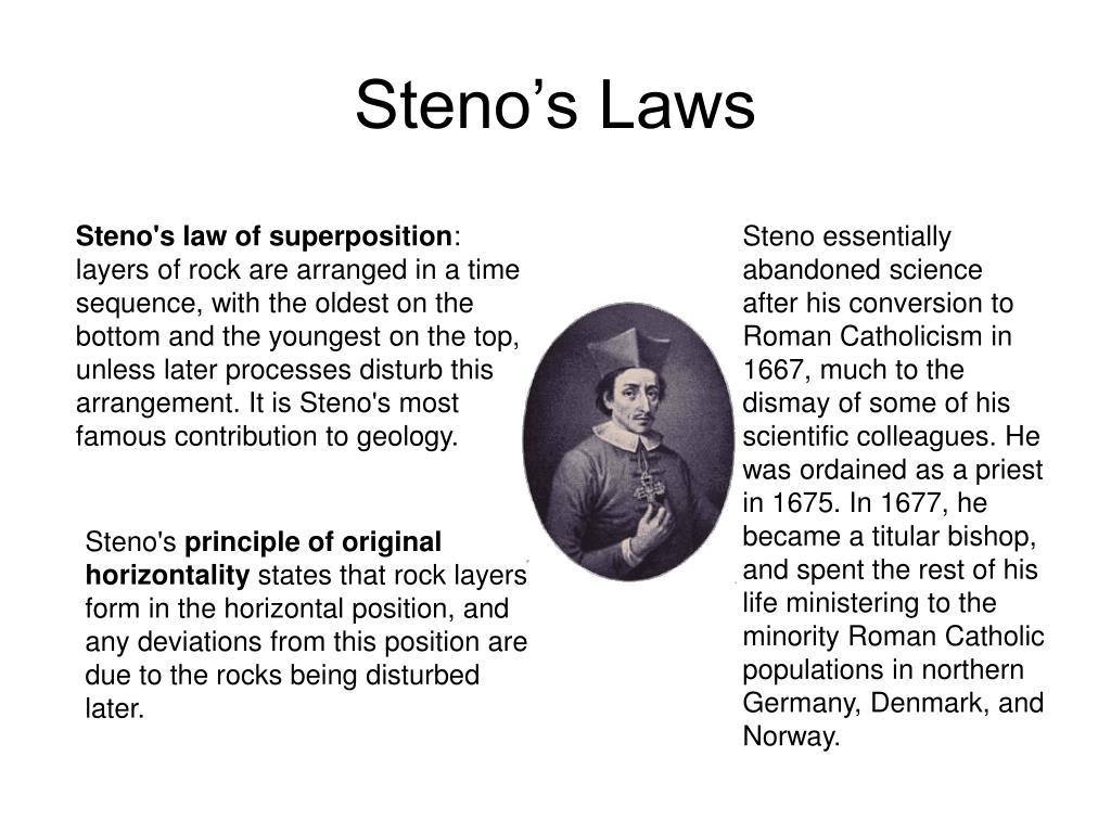 Steno's Laws