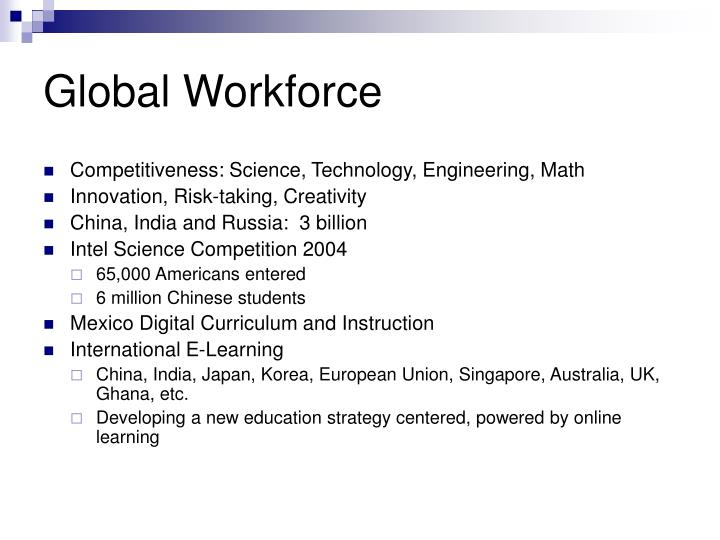 Global workforce