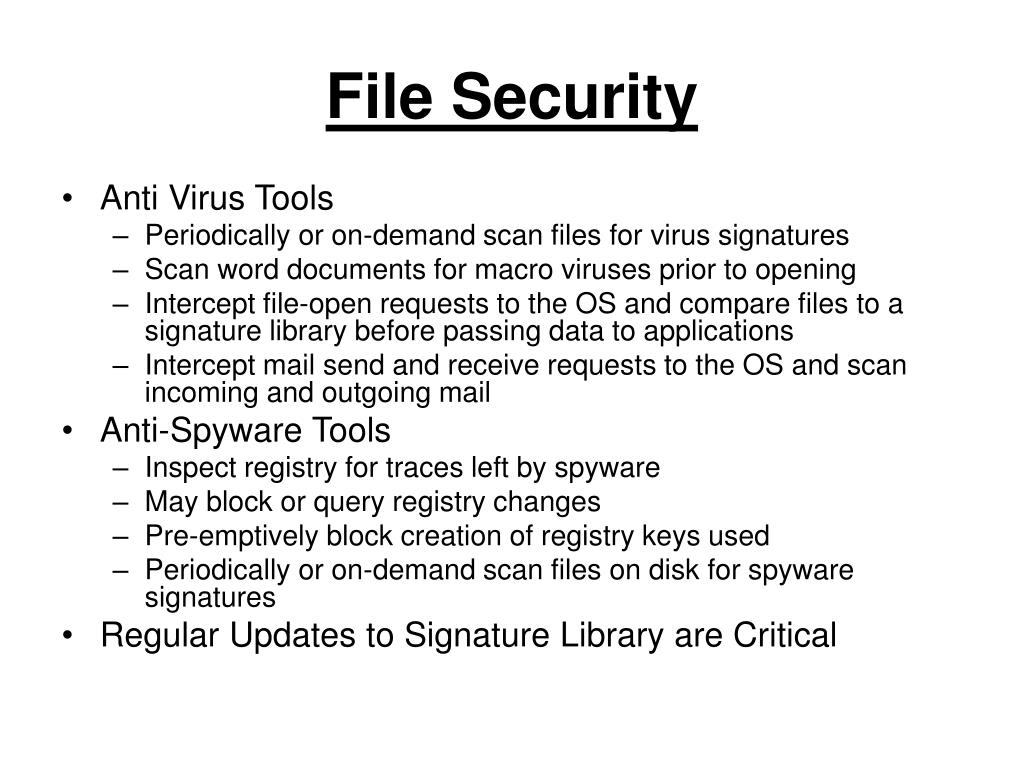 File Security
