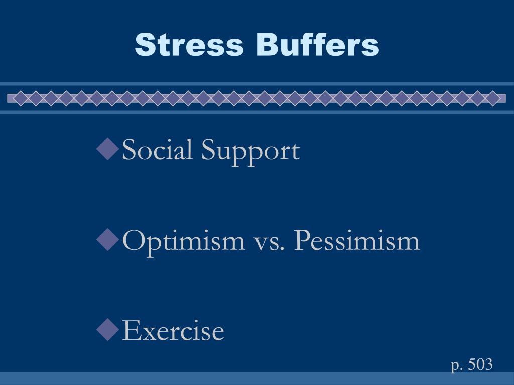 Stress Buffers