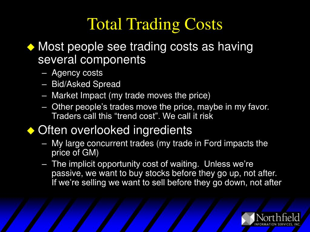 Total Trading Costs
