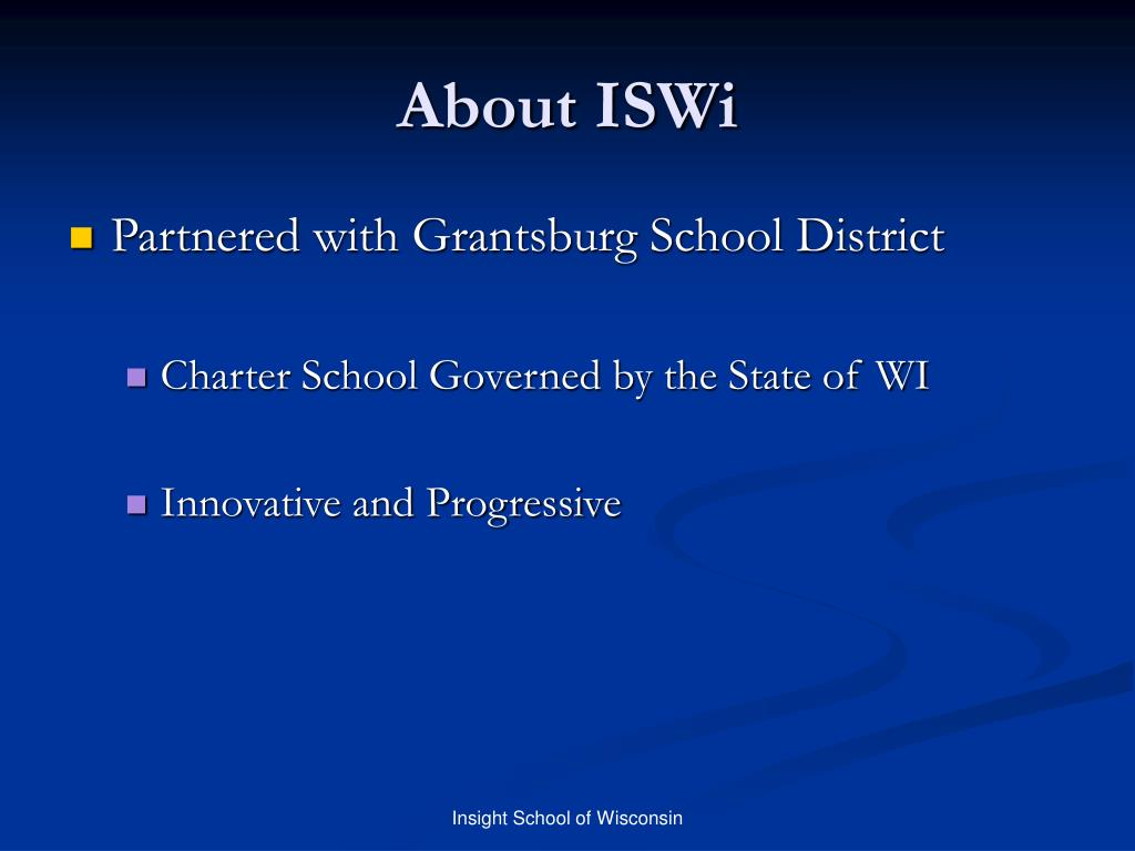 About ISWi