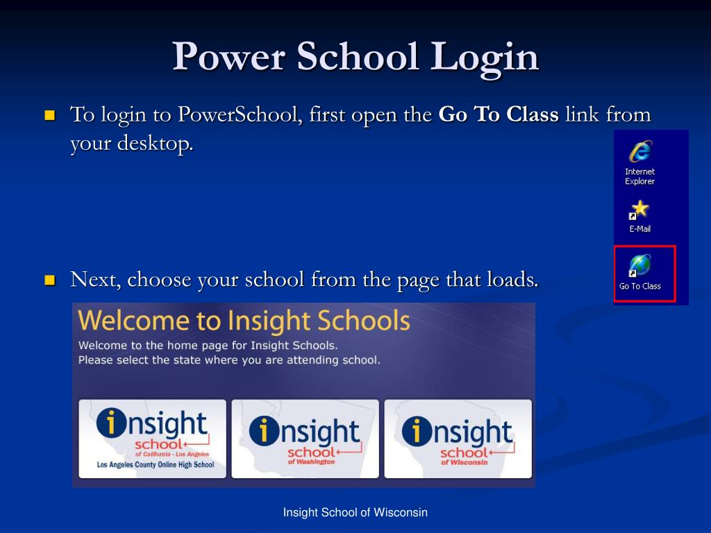 Power School Login