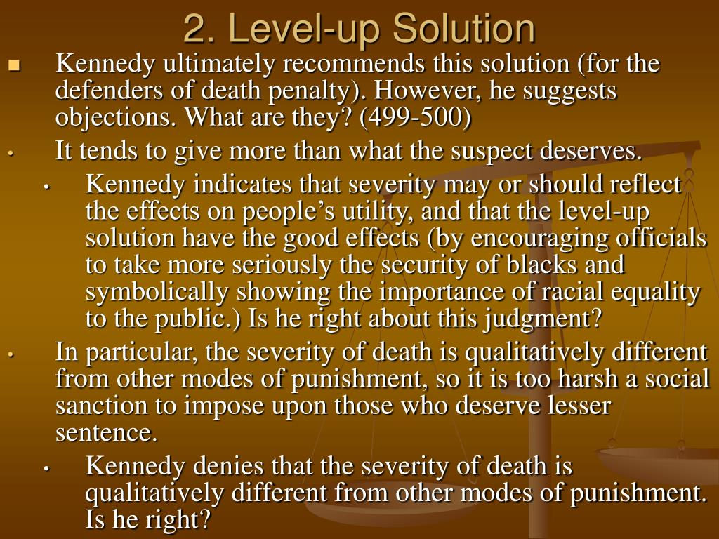 2. Level-up Solution