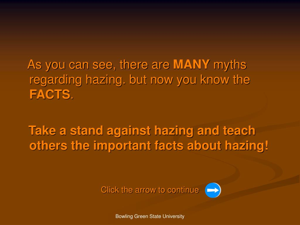 recent hazing facts Definition of hazing in us english 'the facts of hazing are no secret to 'the recent hazing of servicemen has prompted parents to go to great lengths.