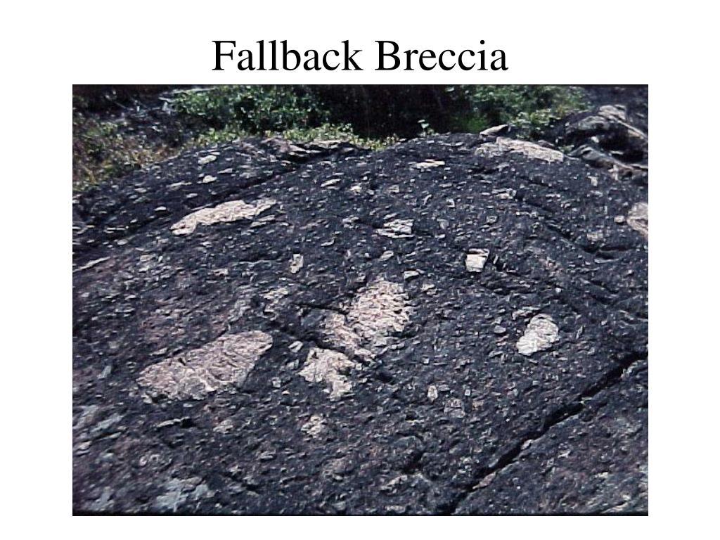 Fallback Breccia